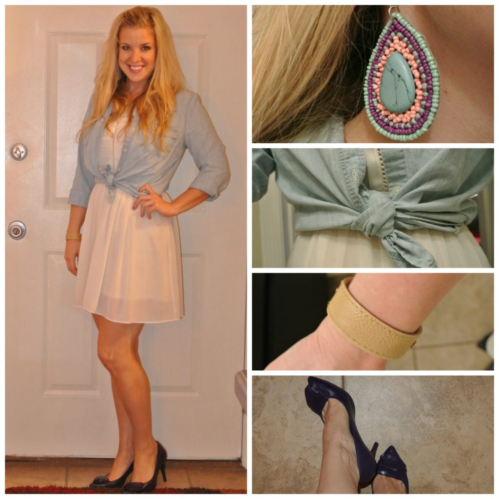 1 -chambray and cream