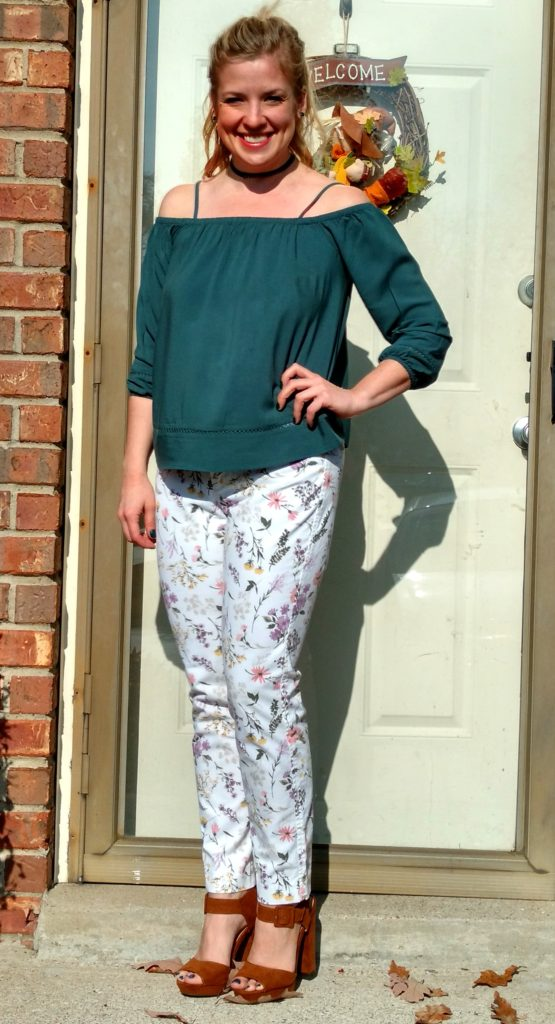 off-the-shoulder-and-floral-pants